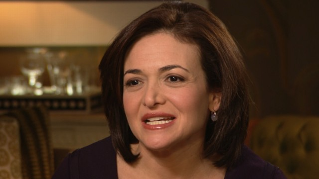 VIDEO: The Facebook COO and Disney director says women should be more assertive to advance their careers.