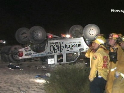 VIDEO: Off-Road Race Accident Kills 8