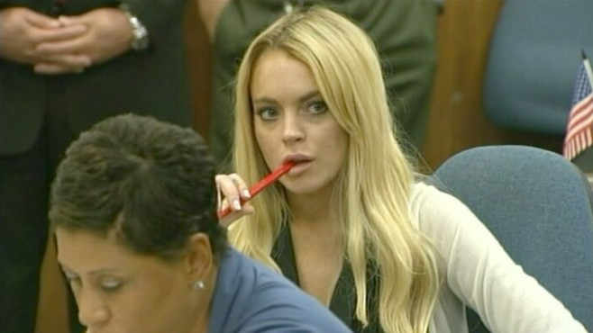 VIDEO: Lindsey Lohan Released From Rehab