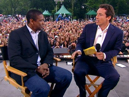 "VIDEO: Denzel Washington on his new role in ""The Taking of Pelham 123."""