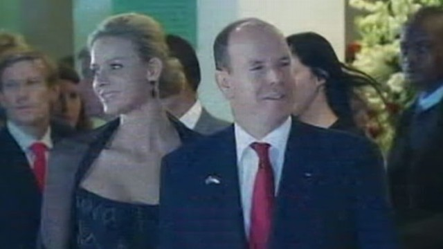 VIDEO: Royal is accused of fathering love-child prior to marrying Charlene Wittstock.