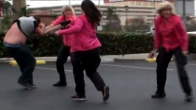 VIDEO: The all-female bounty hunter group is accused of going too far to bring in one man.
