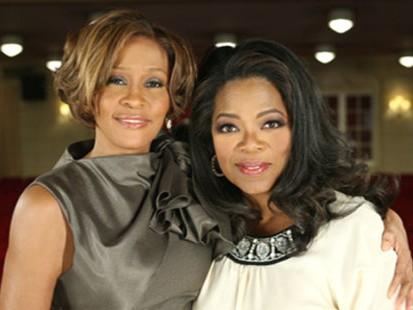 VIDEO: Oprah Winfrey and Whitney Houston.