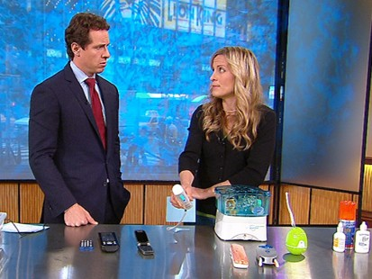 VIDEO: Becky Worley shows what products can eliminate germs on commonly used objects.