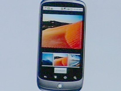 VIDEO: The internet company will sell its Nexus One directly to the consumer.
