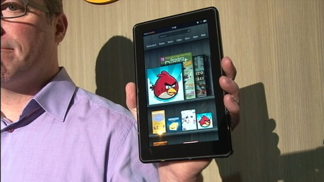 VIDEO: Becky Worley compares Amazons new touch pad to the iPad.