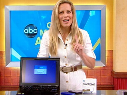 VIDEO: Becky Worley?s hot weather tech tips for cell phones, laptops, touch screens and more.