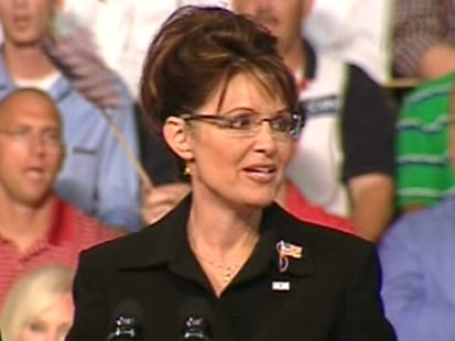 VIDEO: Palin to the Rescue