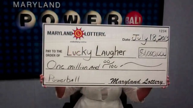 VIDEO: Lottery Winner Cant Stop Laughing