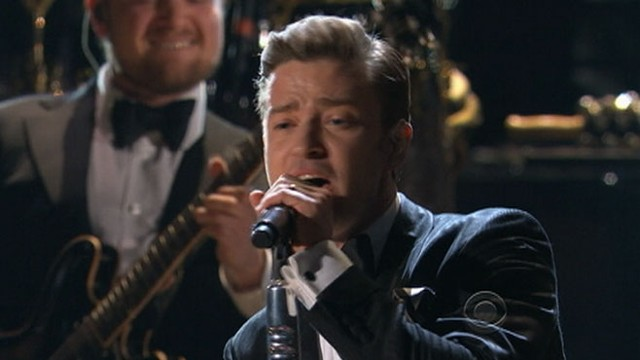 VIDEO: Jsutin Timberlake performs at Grammy Awards 2013.