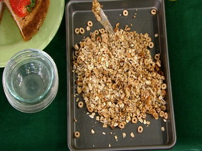 Diane Henderiks homemade granola is shown.