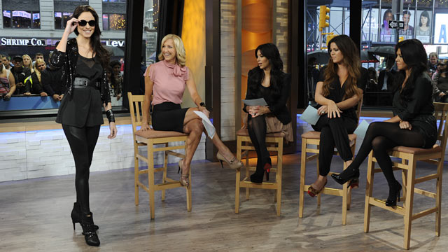 PHOTO:The Kardashian sisters have launched their new clothing line, the Kardashian Kollection at Sears. Ida Astute/ABC News