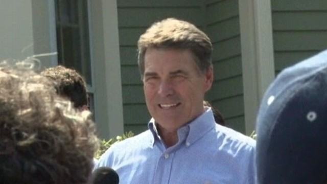 """VIDEO: TX governor Rick Perry calls President Obamas policies an """"economic disaster."""""""