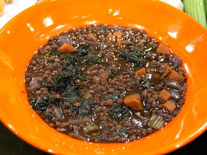 Lentil Soup by Mary Sperling of Newberg, Ore.