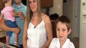 Boy Saves Mom After Lightning Strike