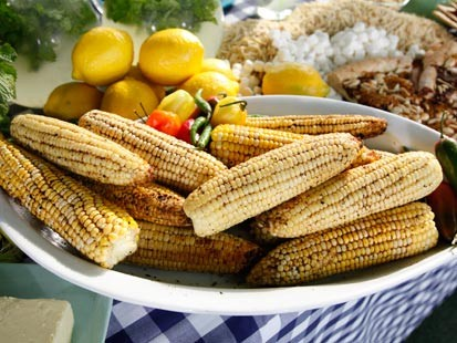 Guy Fieris lime corn on the cob.