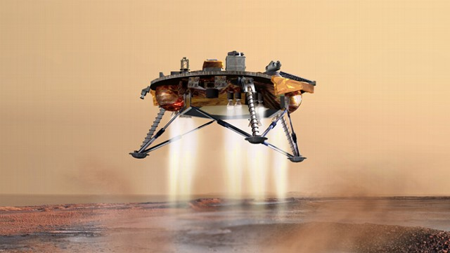Life in Space: Mars Curiosity Rover