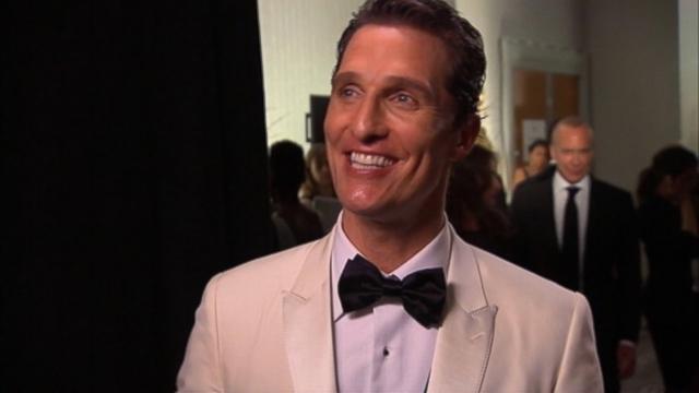 VIDEO: Matthew McConaughey tells ABCs Josh Elliott about the source of his thankfulness.