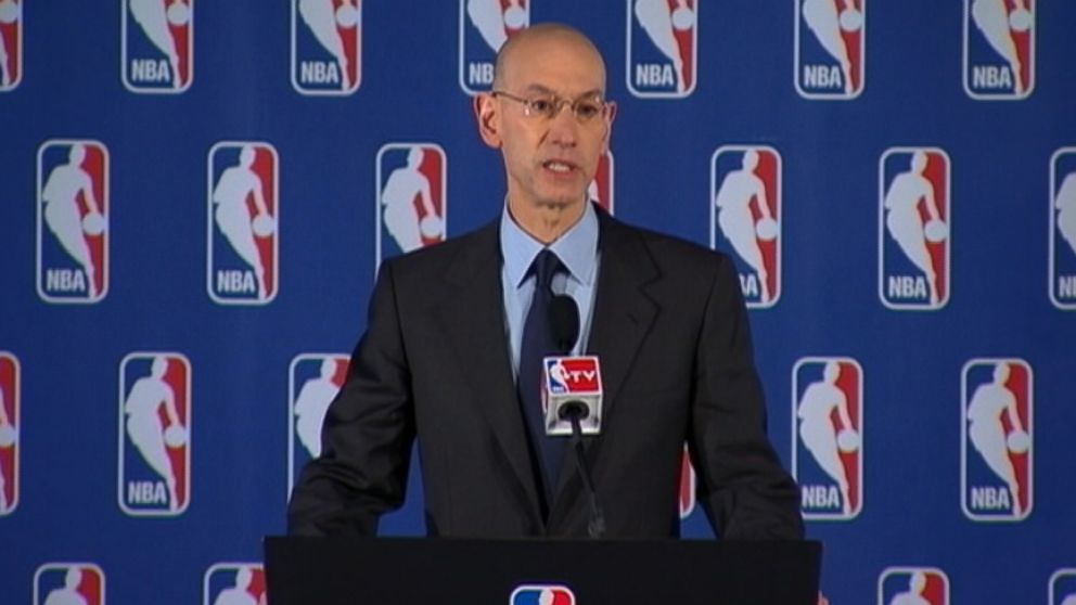 NBA Commissioner Adam Silver also announces a lifetime ban and a $2.5 million fine.