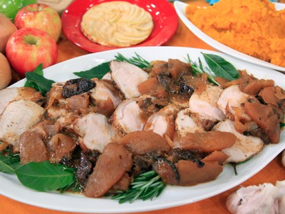 PHOTO Pork Loin with Apples and Prunes