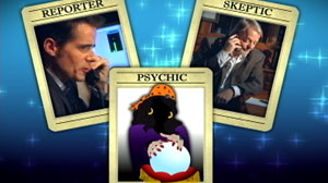 """ABC News reporter Jeremy Hubbard asks former """"psychic"""" Mark Edward, who worked for the Psychic Friends Network, the secrets of the $2 billion a year hot line industry. """"I think people are better served by going to a therapist,"""" Edward says."""