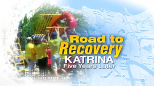 GMA Road to Recovery Katrina
