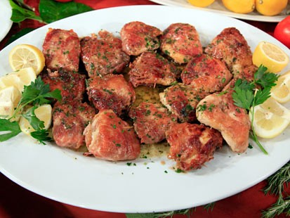 From the kitchen of Mario Bata Saltimbocca A Recipe for Pork, Chicken or Veal