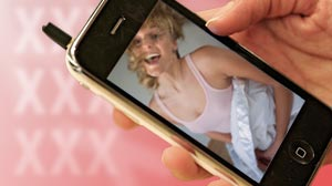 Photo: Sexting is a new trend among teens, sending nude or semi-nude photos to cell phones