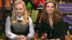 Maria Shriver and Meghan McCain on Good Morning America
