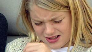 Achoo! Lauren Johnson Cant Stop Sneezing