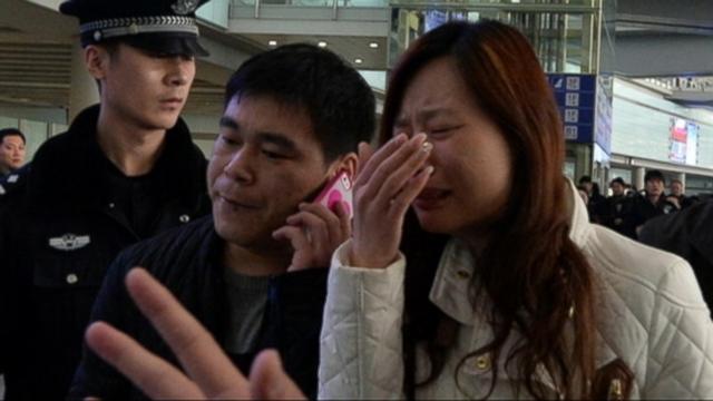VIDEO: Passengers families react to news that their loved ones would not be found alive.