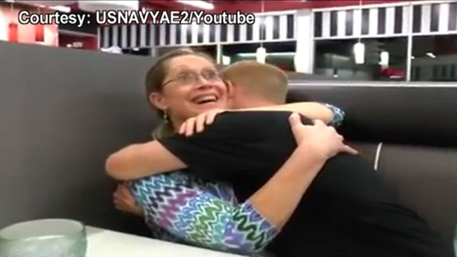 VIDEO: Beverly Browning is shocked to see her son at a restaurant on her birthday.