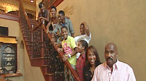 Steve Harvey and his wife have a blended family of seven children from their previous marriages.