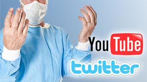 Photo: Hospitals using social networking to interact with web audience live during surgeries