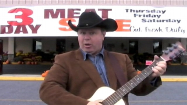"""VIDEO: Dickie Stickheads viral hit, """"The Turkey Song,"""" is a new Thanksgiving classic."""