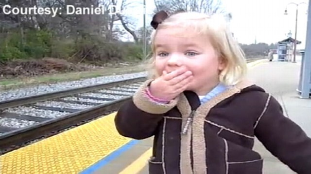 VIDEO: Madeline Dubois birthday dreams came with her first train ride in Nashville, Tenn.