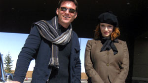 "Bill Weir and Christina Hendricks go on a ""Weekend Drive"""