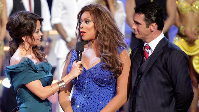 PHOTO The competition grew tougher as a second couple, Wendy Williams and Tony Dovolani, was sent home