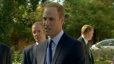 VIDEO: Britains Prince William says his wife is feeling OK, but it has been a tricky few days.