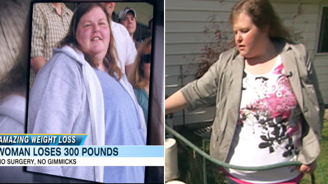 PHOTO:Shannon Davis lost 300 pounds all on her own, without surgery or a gimmicky diet.