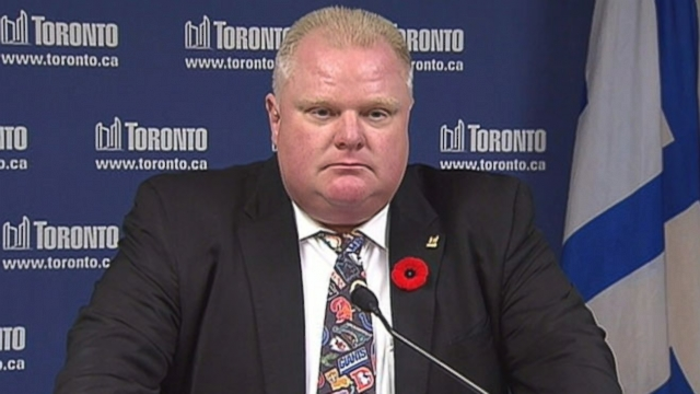 """Toronto mayor spoke with a D.C. radio show about the """"young guys"""" recent raw-in with the law."""