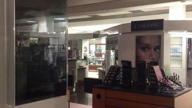 Emily Keeler live-tweeted her predicament from inside a closed Toronto department store.