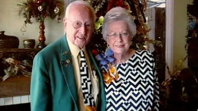 VIDEO: Mel and Joey Schwanke wear matching, custom-made clothing.