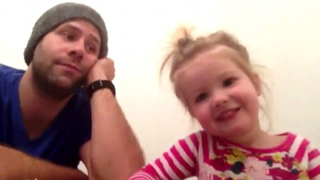 """VIDEO: Jesse Teeters calls """"The Muppets"""" duet with 2-year-old his """"greatest achievement."""""""