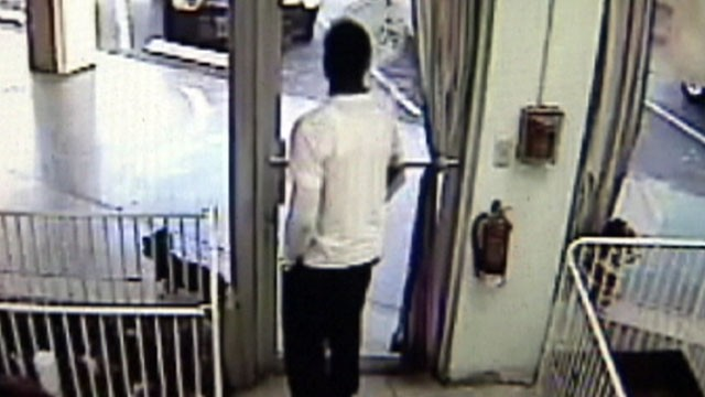 VIDEO: A man at a Florida pet store goes below the waist in concealing his alleged theft.