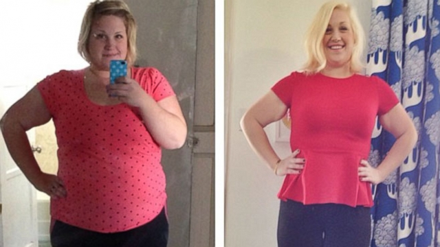 Diana Smith says her brothers weight loss inspired her own transformation.