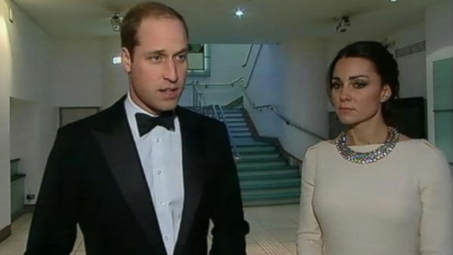 "British royal was at the London premiere of ""Mandela: Long Walk to Freedom"" when the news broke."
