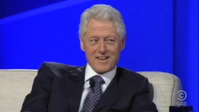 VIDEO: Stephen Colbert creates a Twitter account for Bill Clinton.