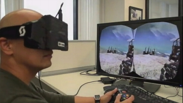 """VIDEO: Mark Zuckerberg hopes technology created by Oculus can be used in """"one of the platforms of the future."""""""
