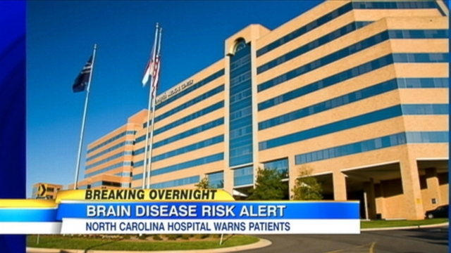 VIDEO: Hospital officials say surgical tools used on a patient suspected of having Creutzfeldt-Jakob disease werent properly sterilized.